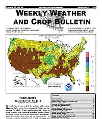 Weekly Weather and Crop Bulletin Screenshot