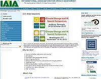 IAIA Climate Symposiums Screenshot