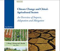 Climate Change and China's Agricultural Sector: An Overview of Impacts, Adaptation and Mitigation Screenshot
