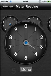 Meter Reader Screenshot