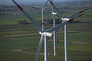 Seimens wind turbines
