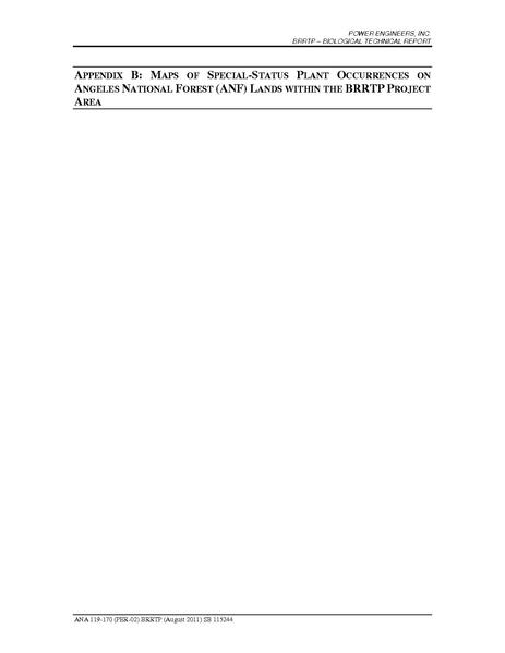 File:Barren Ridge FEIS-Volume IV Bio App B Mpas of Special Status Pland Occurences on ANF Lands.pdf