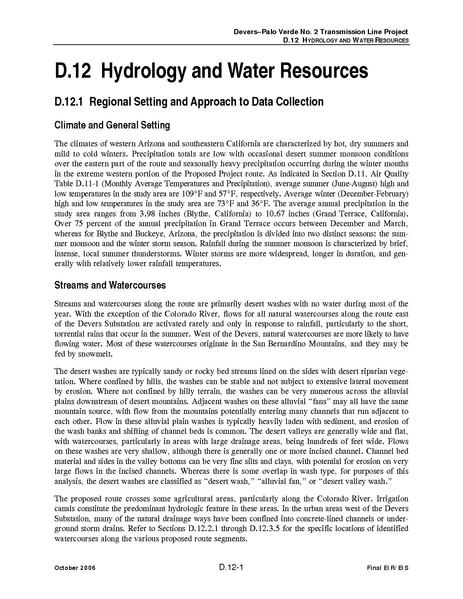 File:Devers Palo Verde No2-FEIS D12 Hydrology and Water Resources.pdf