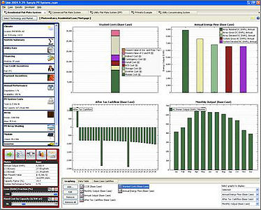 NREL Solar Advisor Model
