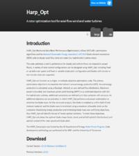 HARP-Opt Screenshot