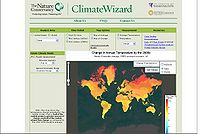 Nature Conservancy-Climate Wizard Screenshot