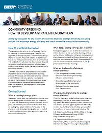 How to Develop A Strategic Energy Plan Screenshot