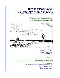 NREL-Wind Resource Assessment Handbook Screenshot