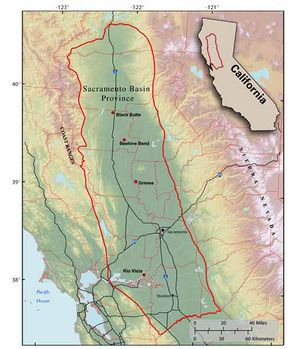 Undiscovered Natural Gas Resources of the Sacramento Basin Province of California, 2006