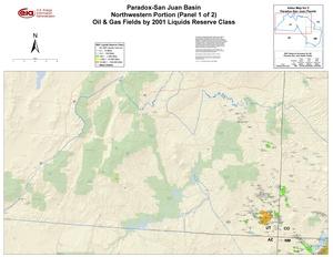 Paradox-San Juan Basin, Northwest Part By 2001 Liquids Reserve Class