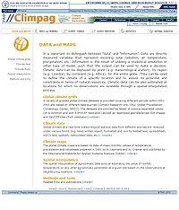 CLIMPAG Screenshot