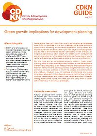 CDKN-Green Growth: Implications for Development Planning Screenshot