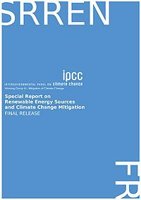 IPCC-Special Report on Renewable Energy Sources and Climate Change Mitigation Screenshot