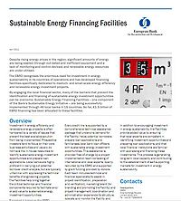 EBRD-Sustainable Energy Financing Facilities Screenshot