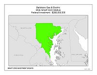 Coverage Map: Baltimore Gas and Electric Company Smart Grid Project