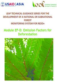 Module: Emission Factors for Deforestation Screenshot