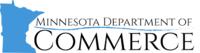 Logo: Minnesota Department of Commerce