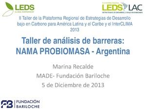 Marina Recalde - Taller de análisis de barreras NAMA PROBIOMASA.pdf