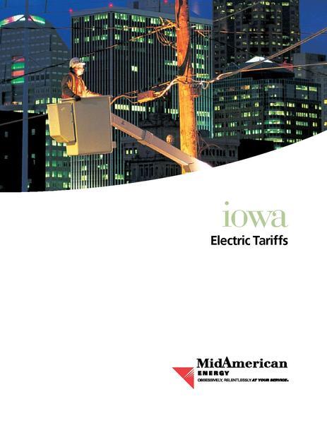 File:Utility Rate MidAmerican Energy ia-elec.pdf
