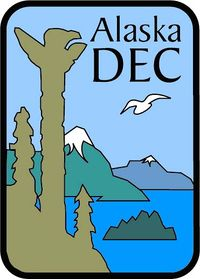 Logo: Alaska Department of Environmental Conservation