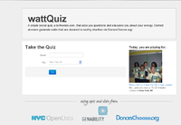 WattQuiz Screenshot
