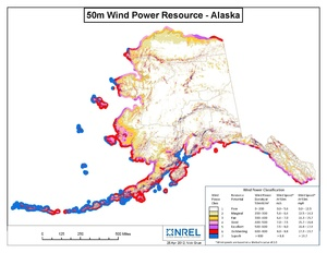 Alaska 50m Wind Resource (PDF)