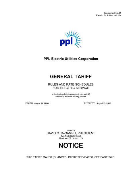 File:Utility Rate PPL master r14.pdf