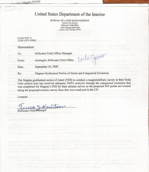 File:DOI-BLM-NV-C010-2009-0051-CX - Cover Memo.pdf