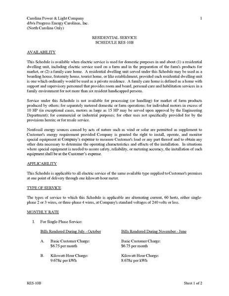 File:Utility Rate Progress NCScheduleRES.pdf