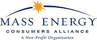 Logo: Mass Energy Consumers Alliance