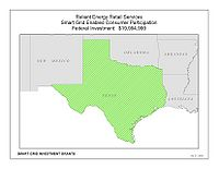 Coverage Map: Reliant Energy Retail Services, LLC Smart Grid Project