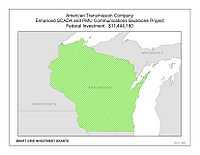 Coverage Map: American Transmission Company LLC II Smart Grid Project