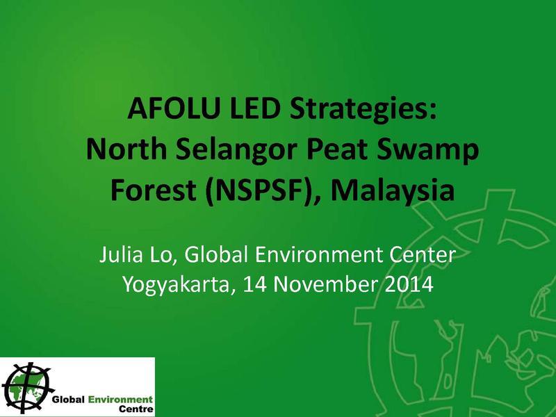 File:4 AFOLU LEDS proposal - North Selangor.pdf