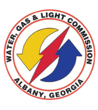 Logo: Albany Water Gas & Light Comm
