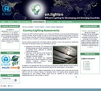 En.lighten Country Lighting Assessments (CLAs) Screenshot