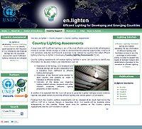 En.lighten Country Lighting Assessments (CLAs) Screenshot