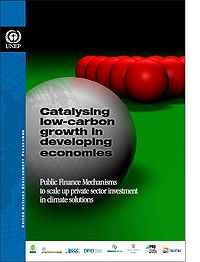 Catalyzing Low Carbon Growth in Developing Countries: Public Finance Mechanisms to scale up private sector investment in climate solutions Screenshot