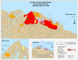 Alaskan North Slope By 2001 Gas Reserve Class