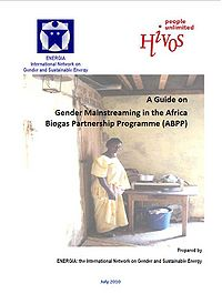 Gender Mainstreaming Guide for the Africa Biogas Partnership Program Screenshot