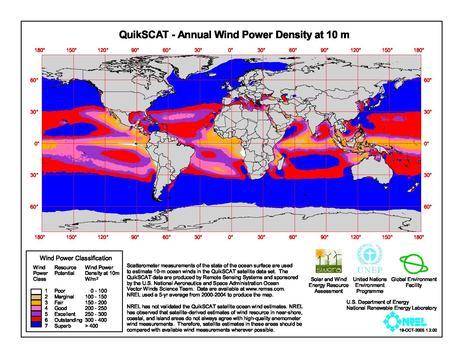 File:QuikSCAT- Annual Wind Power Density at 10m.pdf