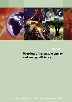 Overview of Renewable energy and energy efficiency