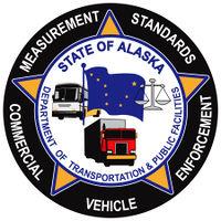 Logo: Alaska Division of Measurement Standards & Commercial Vehicle Enforcement