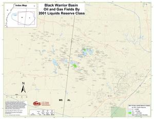 Black Warrior Basin By 2001 Liquids Reserve Class