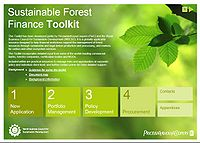 Sustainable Forest Finance Toolkit Screenshot