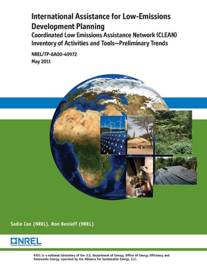 International Assistance for Low-Emission Development Planning: CLEAN Inventory of Activities and Tools—Preliminary Trends