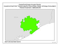 Coverage Map: CenterPoint Energy Smart Grid Project