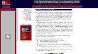 The World Public Bike Collaborative: 2011 Screenshot