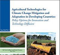 Agricultural Technologies for Climate Change Mitigation and Adaptation in Developing Countries: Policy Options for Innovations and Technology Diffusion Screenshot