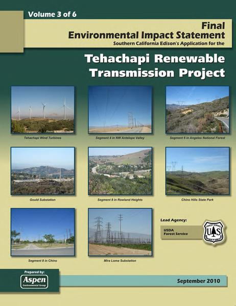File:Tehachapi Renewable FEIS Volume III Appendices.pdf