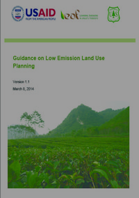 Guidelines for Low Emission Land use Planning Screenshot